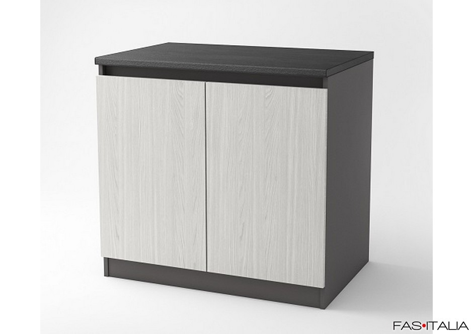 Mobile per buffet a due ante 100x66 cm Essential