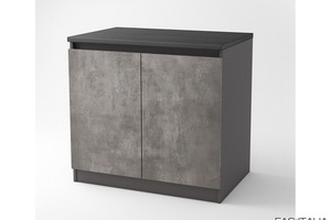 Mobile per buffet a due ante 100x66 cm Midi